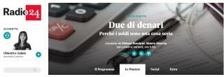Radio 24 - assegni bancari - intervista melpignano