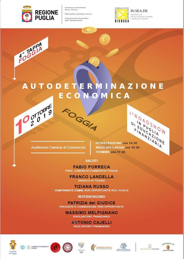 educazione finanziaria a Foggia