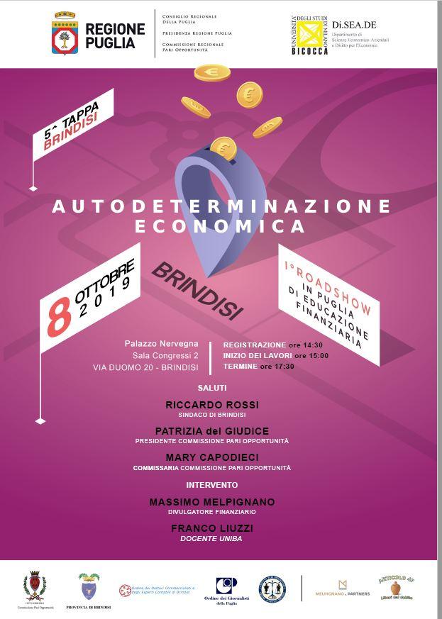 educazione finanziaria Brindisi